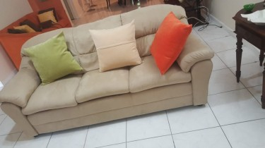 Slightly Used Sofa Set For Sale