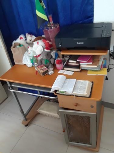 Computer Desk And Printer
