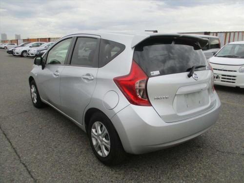 2014 Grey Nissan Note