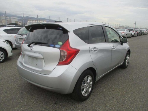 2014 Grey Nissan Note
