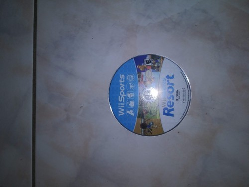 Nintendo Wii With 2 Games