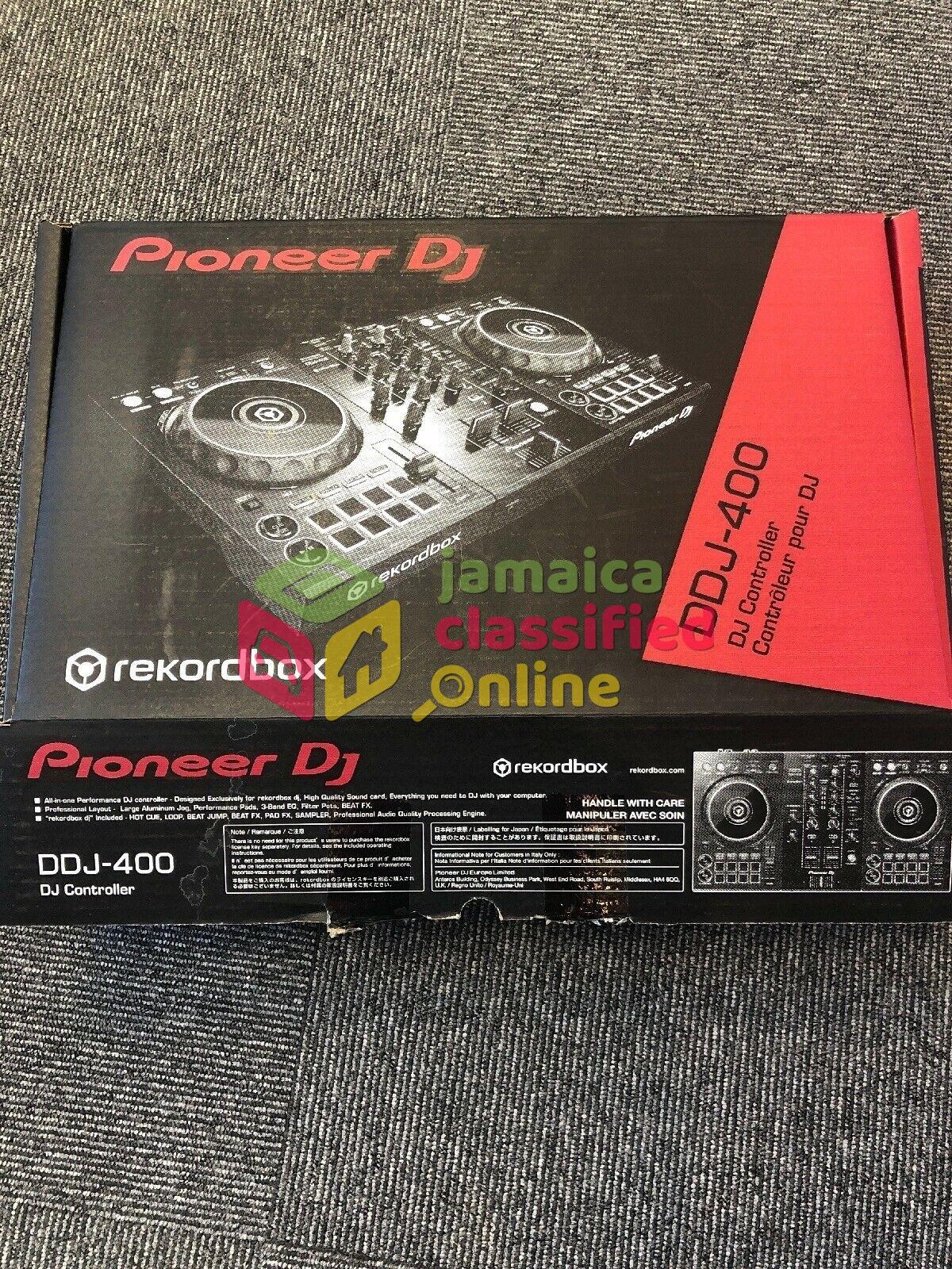 Pioneer DDJ-400 2-Channel Rekordbox DJ Controller for sale