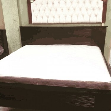 Queen Size Bedframe And Bedhead For Sale