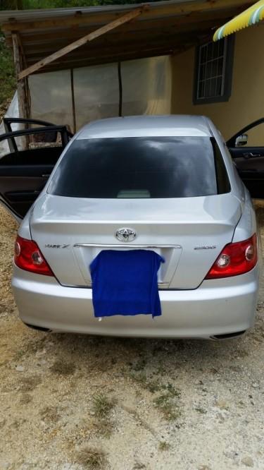 2007 Toyota Mark X