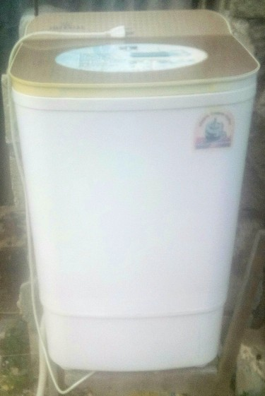 Washing Machine And A Fan