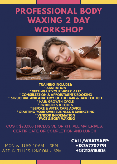 Body Waxing Workshop