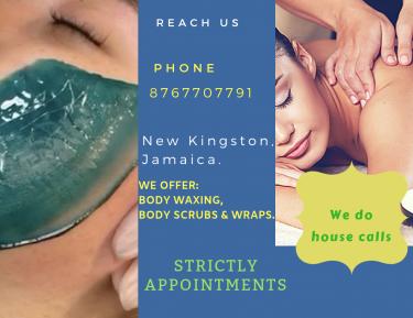 Spa Services:- Body Waxing, Body Scrubs & Wraps