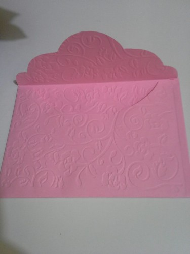 Cake Boxes And Colored Envelopes