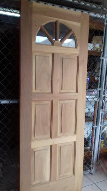Beautiful Sunburst Panel Doors For Sale