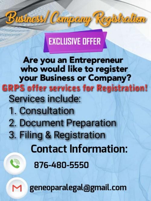 Business/Company Registration