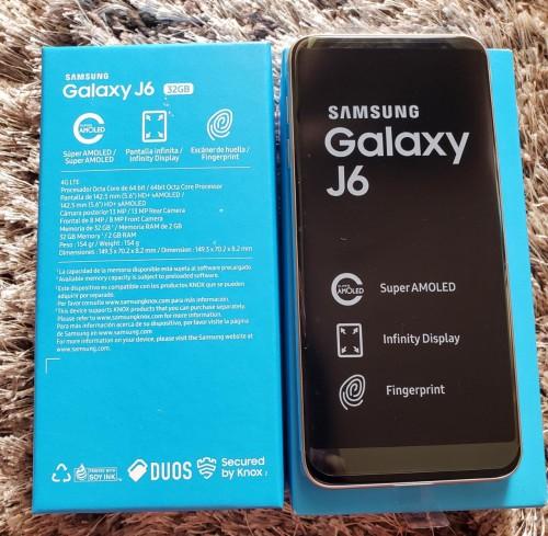 SAMSUNG J6 32GB DUAL SIM FULLY UNLOCKED