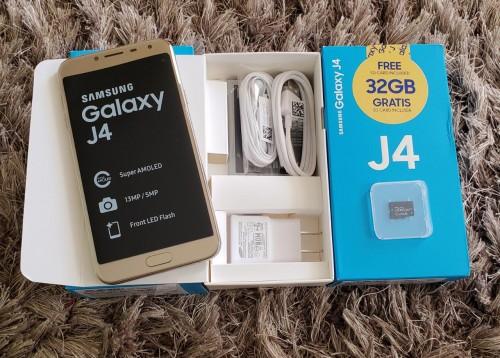 SAMSUNG GALAXY J4 32GB DUAL SIM FULLY UNLOCKED