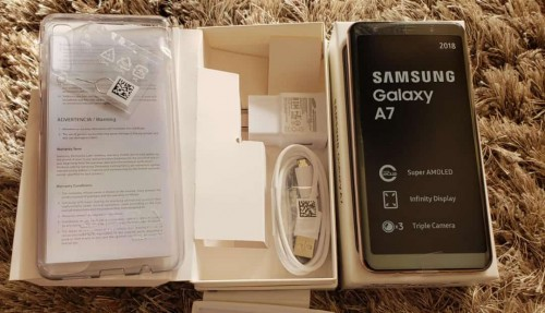 SAMSUNG GALAXY A7 64GB DUAL SIM FULLY UNLOCKED