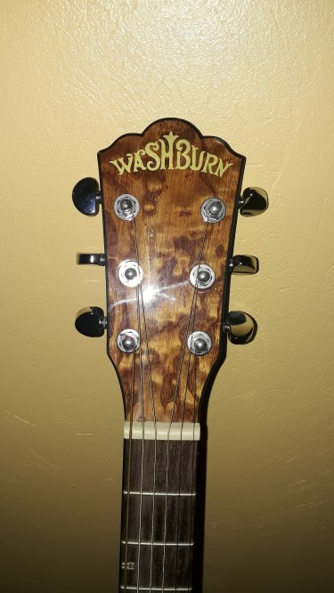 Washburn WD7S Harvest Series Acoustic Guitar