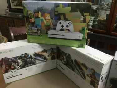 Xbox One S 500GB & 1TB HDWhite Console 4K Console