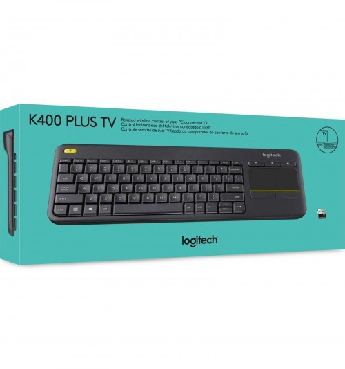 Logitech K400 Plus Wireless Touch TV Keyboard