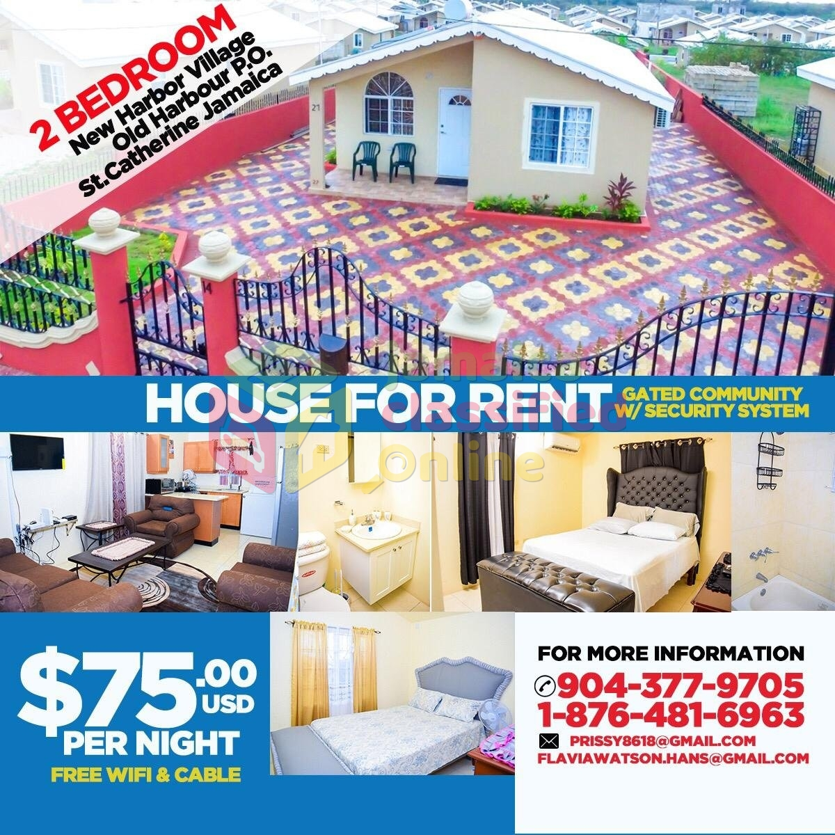 Free Houses For Rent: Fully Furnished House With Free Cable And Internet For