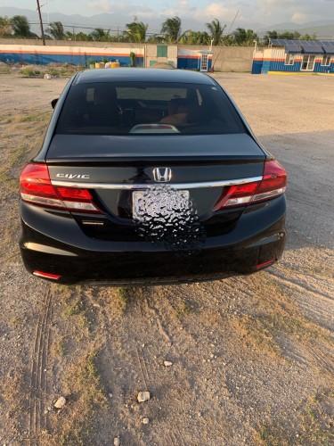 2014 Black Honda Civic