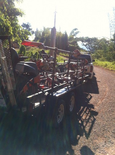 5x16 Double Axle Trailer