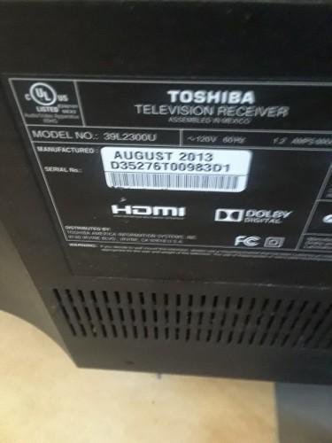 39 Inch Toshiba Tv