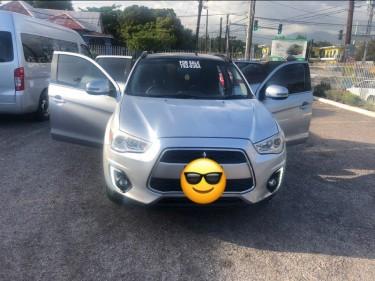 2015 Silver Mitsubishi ASX