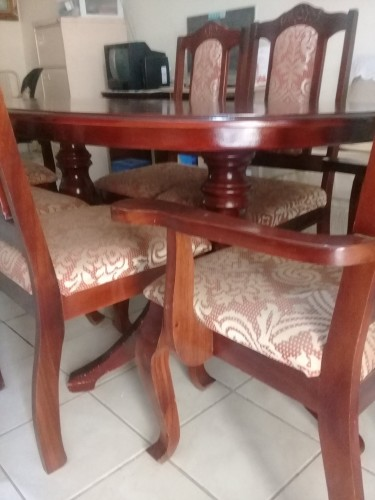 7 Piece Dining Table Set (SOLD)