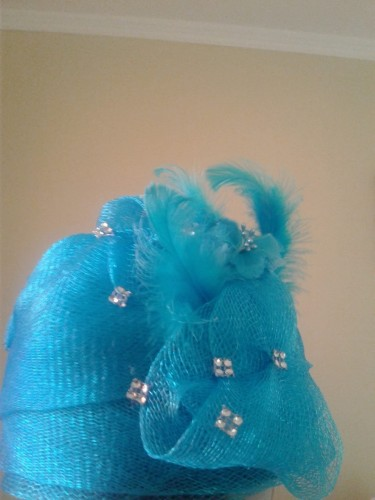 Lady\\\'s Church Hats Done To Order (strew & Mesh)