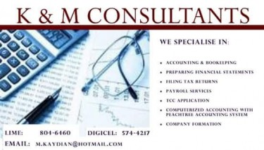 Accounting And Tax Services Provided