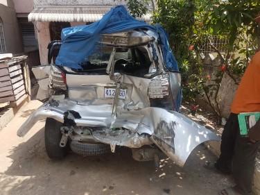 2008 Damaged Toyota Wish