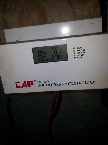 Cap Lm-series 60 Amp Charger Controller