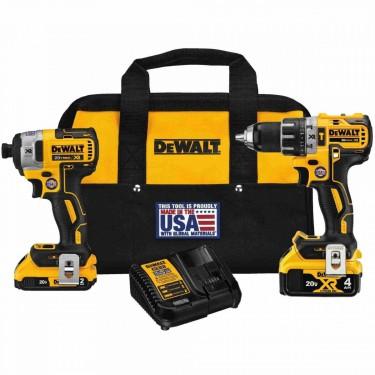 DeWalt 20V MAX XR Hammer Drill/Impact Combo Kit
