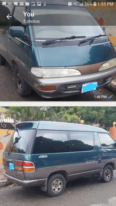 1996 Toyota Townace