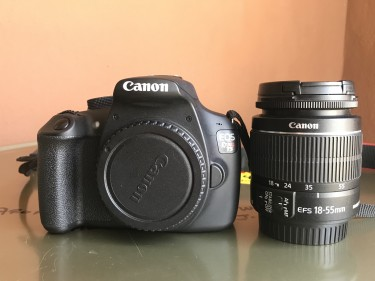 Canon Rebel T5 / EFS 18-55mm