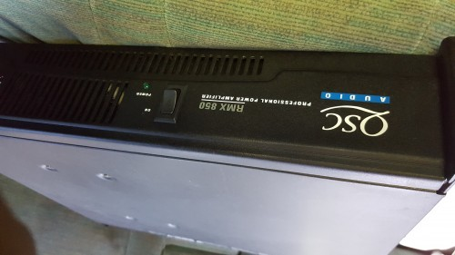 Qsc Amplifier 850