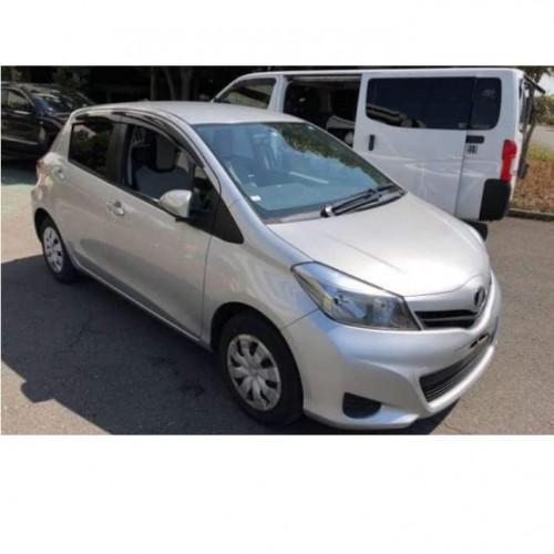 Year 2014 Toyota Vitz .