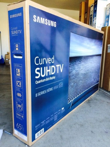 Damaged 65 Inch Samsung TV