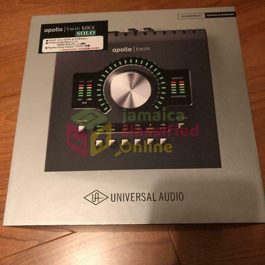 Universal Audio Apollo Twin Quad MKII - B-Stock $8 for sale