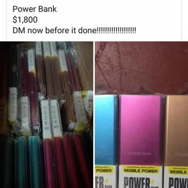Brand New Power Bank For Android Phones