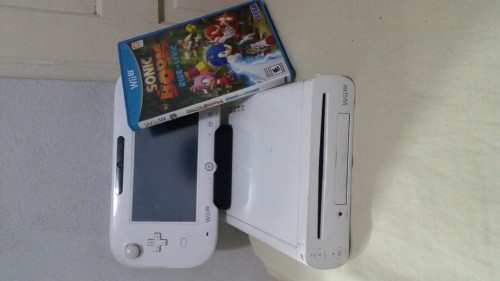 Nintendo Wii U With Sonic Boom Rise Of Lyric