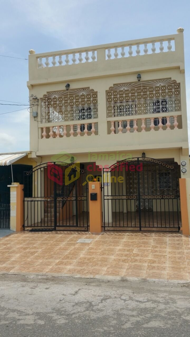 3 Bedroom 2 Bathroom Apartment For Rent In Portmore St