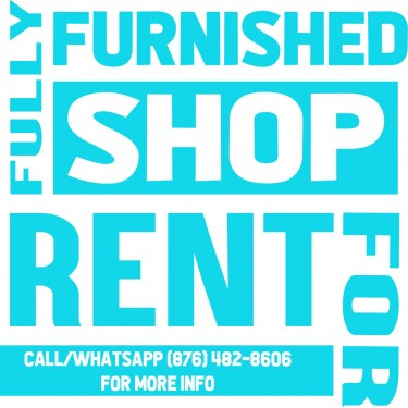 Fully Furnished Shop For RENT