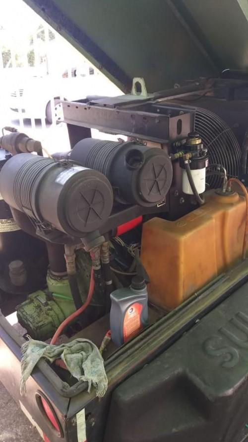 Compressor Sullivan 225 ,with Hammer N Hose
