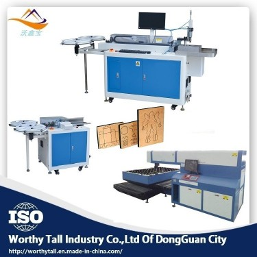 Laser Die Board Cutting Machine Bending Machine