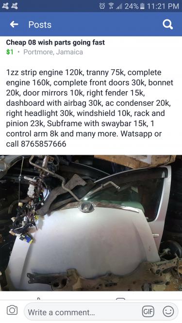 Cheap 08 Wish Parts