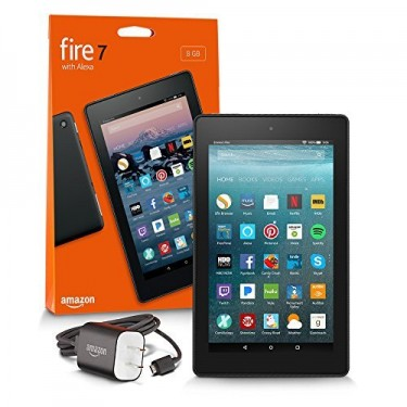 New 7 Inch Amazon Fire 7 With Alexa Tablets
