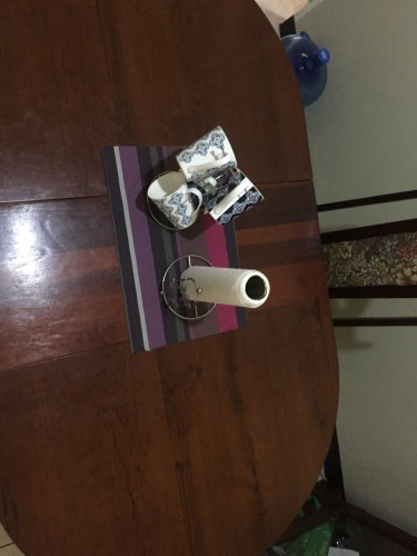 4 Piece Dining Table Set With Tea Cup Set Included
