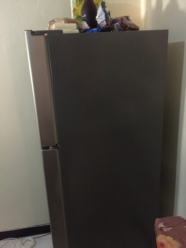 9.6 Cubit Daewoo Stainless Steel Fridge