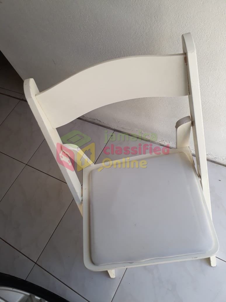 Wooden Folding Chairs For Sale In St Andrew Kingston St