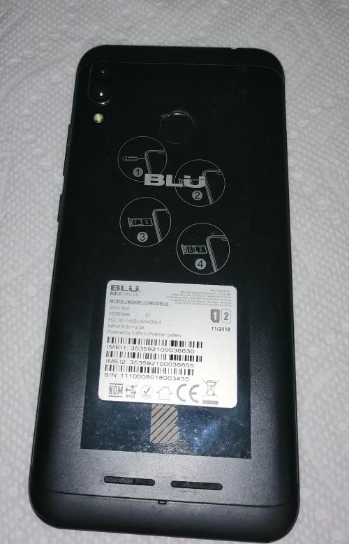 UNLOCKED DUAL SIM - BLU VIVO XL4 - NEW