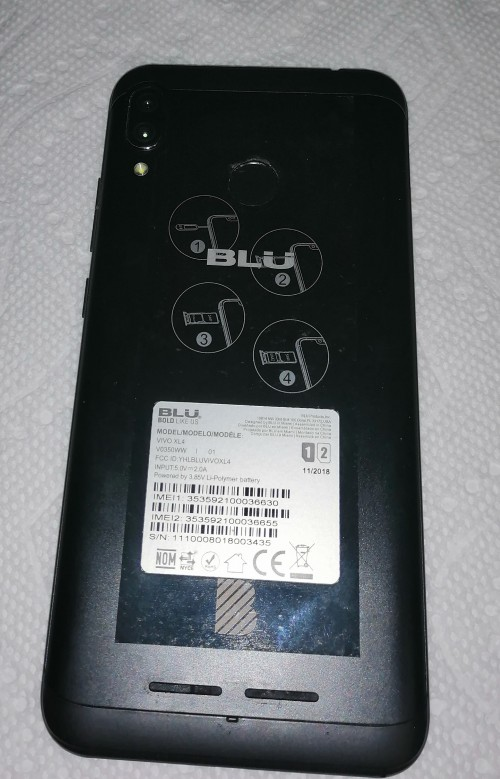 UNLOCKED DUAL SIM -- BLU VIVO XL4 - NEW